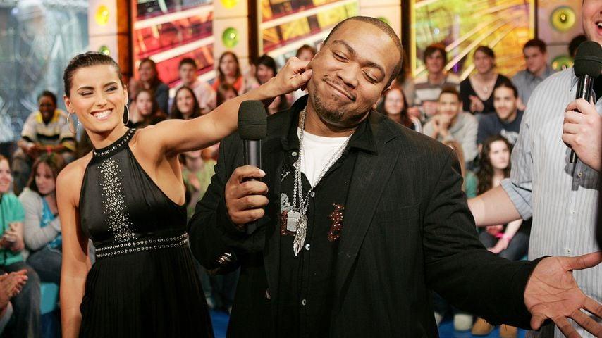 Nelly Furtado und Timbaland bei MTV Total Request Live im März 2007