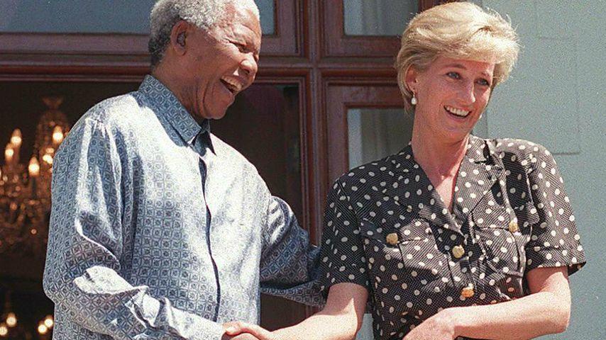 Nelson Mandela und Prinzessin Diana, 1997