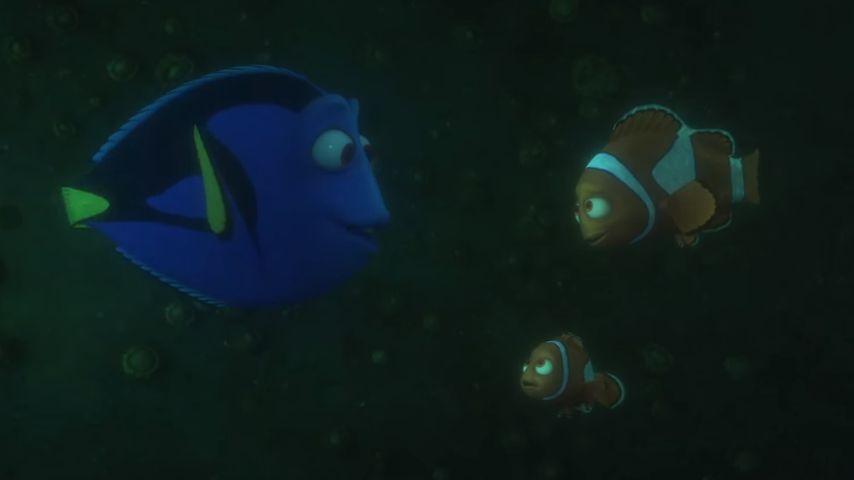 """Nemo, Marlin und Dorie in """"Findet Dorie"""""""