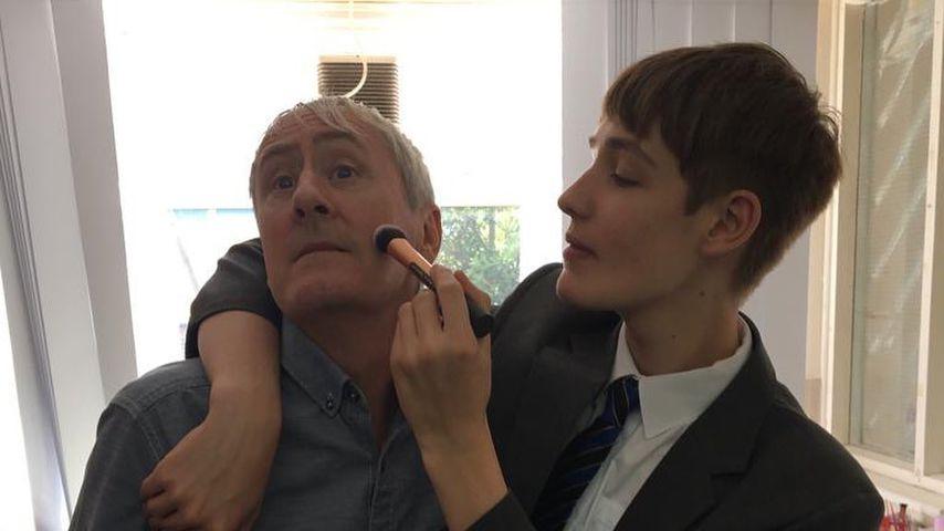 Nicholas Lyndhurst mit seinem Sohn Archie