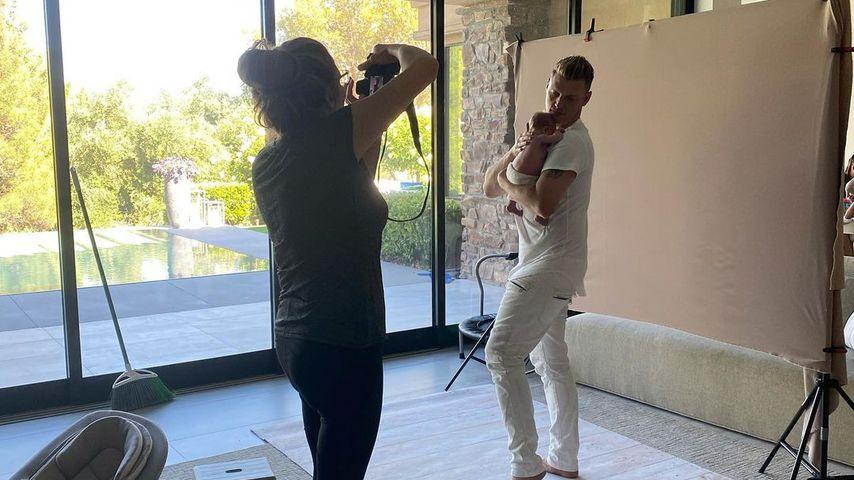 Süß! Hier hat Nick Carters Tochter ihr erstes Fotoshooting