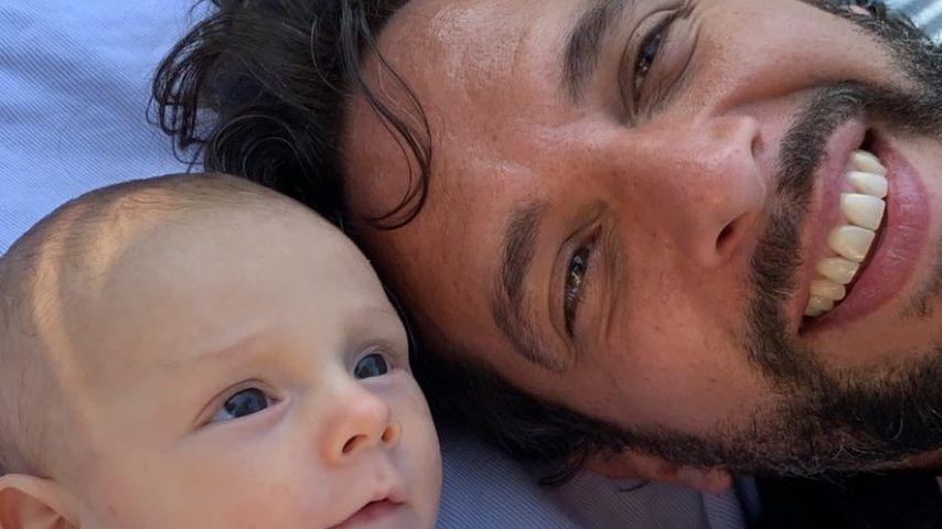 Nick Cordero und sein Sohn Elvis Eduardo