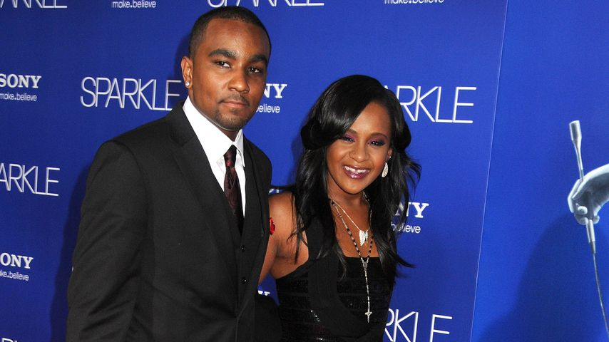 "Nick Gordon und Bobbi Kristina Brown bei der ""Sparkle""-Premiere in Los Angeles"
