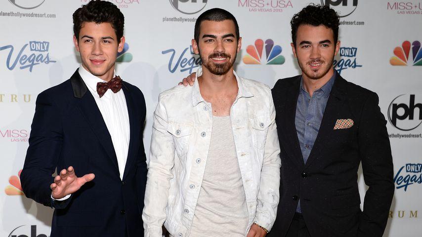 Nick, Joe und Kevin Jonas bei einem Event in Las Vegas