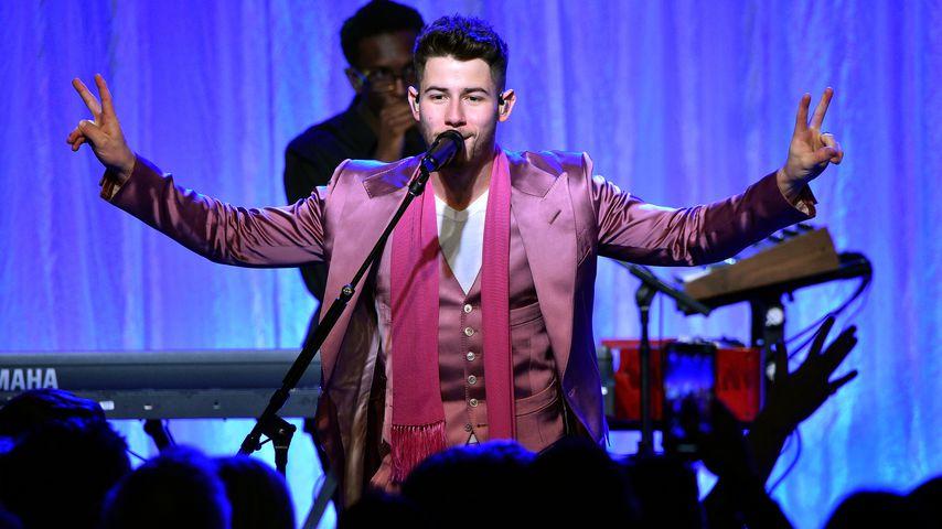 Nick Jonas bei einem Event in Beverly Hills im Februar 2020