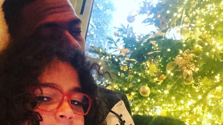 Nick Cannon und seine Tochter Monroe