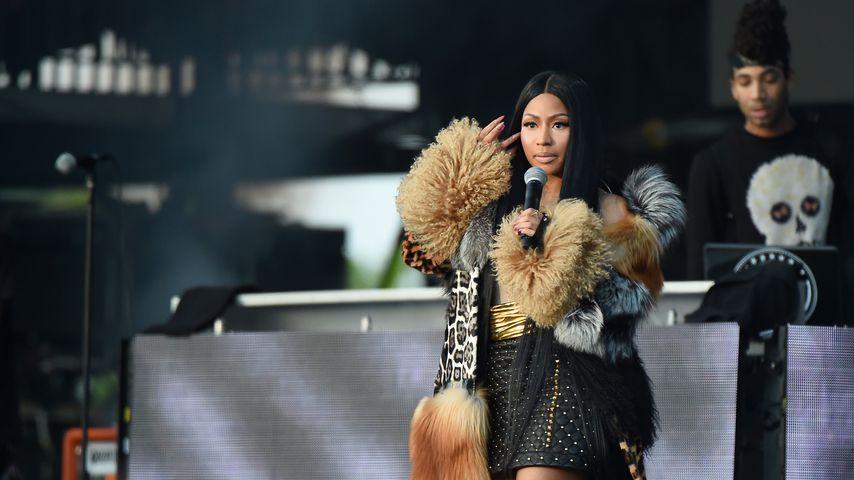 Nicki Minaj: Von Fan auf der Bühne begrapscht!