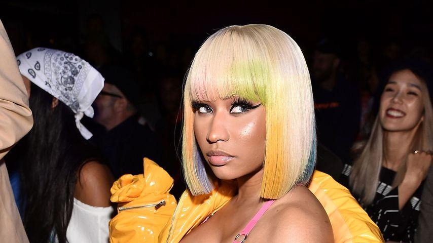 Nicki Minaj bei der Le Poisson Rouge-Show in New York