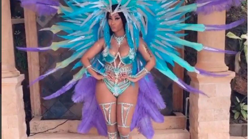 Dementiert Nicki Minaj mit diesem sexy Look Schwangerschaft?
