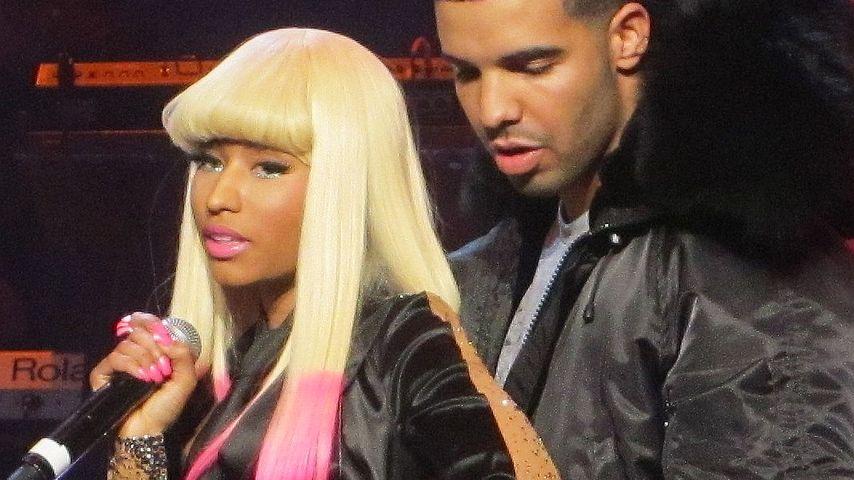 Gratulation: Bestätigt Drake etwa Nicki Minajs Verlobung?