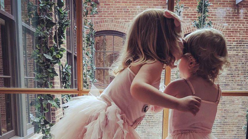 Nicky Hiltons Töchter Lily und Teddy im Juli 2019