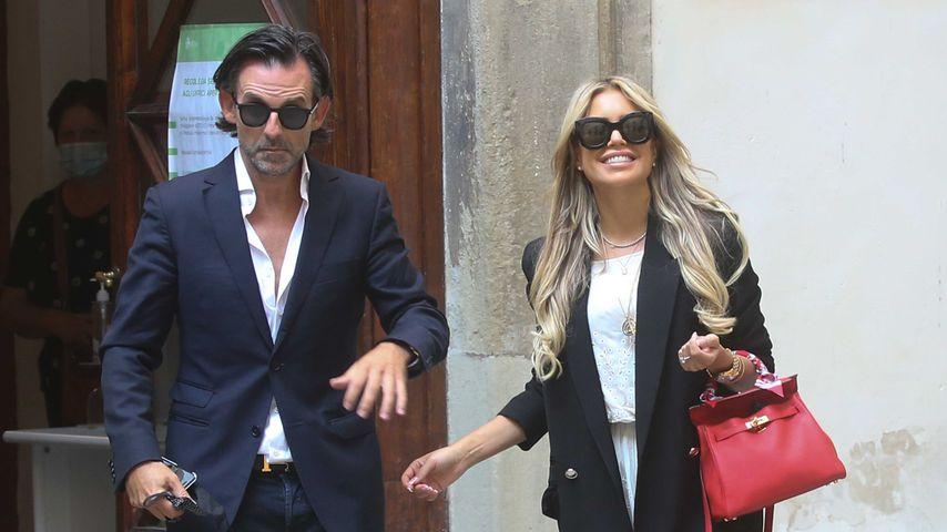 Niclas Castello und Sylvie Meis in Florenz, September 2020
