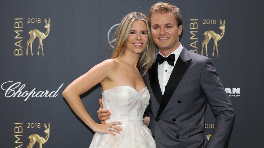 Nico Rosberg mit seiner Frau Vivien bei der 70. Bambi-Verleihung