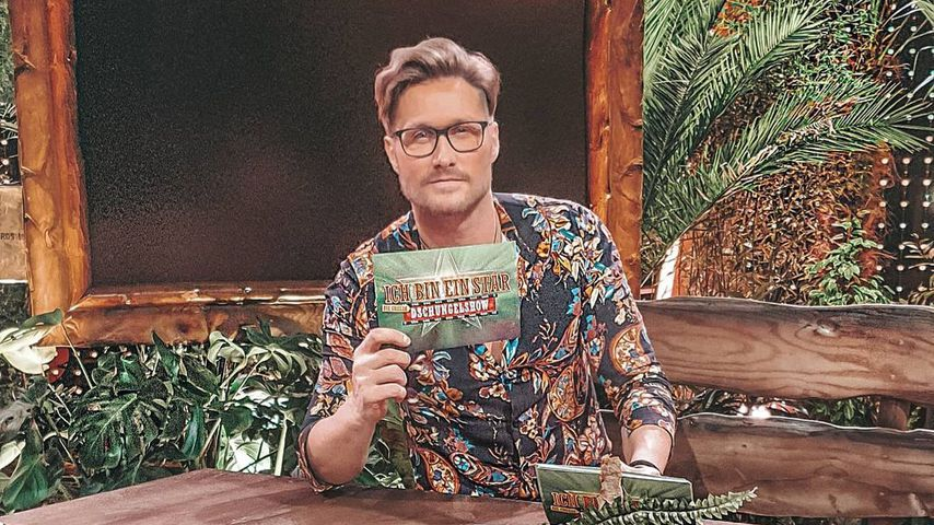 Nico Schwanz im Dschungelshow-Studio im Januar 2021