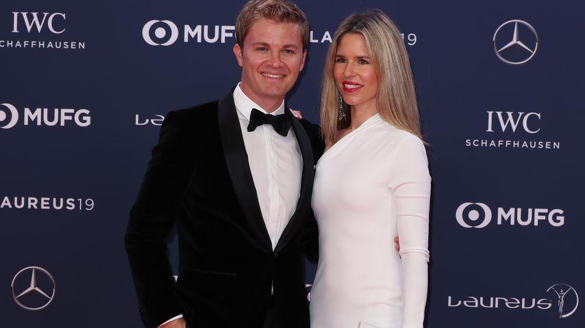 Nico und Vivian Rosberg im Februar 2019