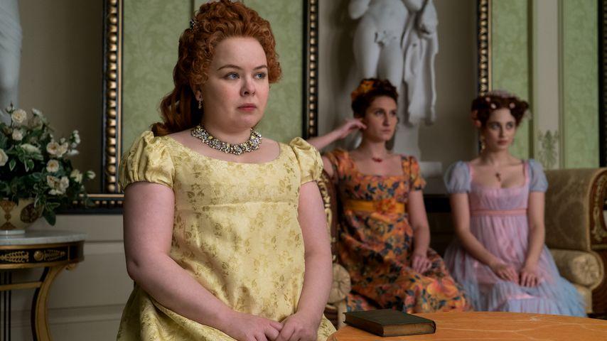 "Nicola Coughlan als Penelope Featherington in ""Bridgerton"""