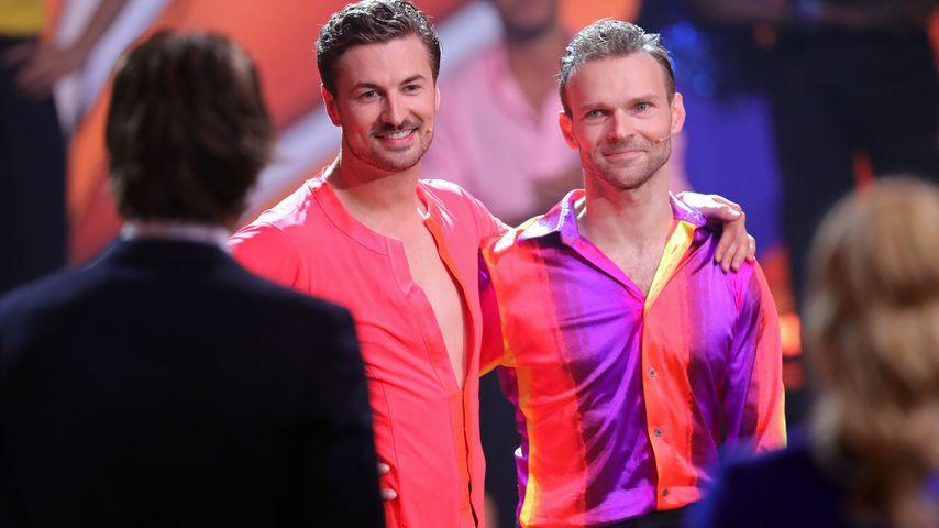 """Nicolas Puschmann und Vadim Garbuzov in der achten """"Let's Dance""""-Show"""