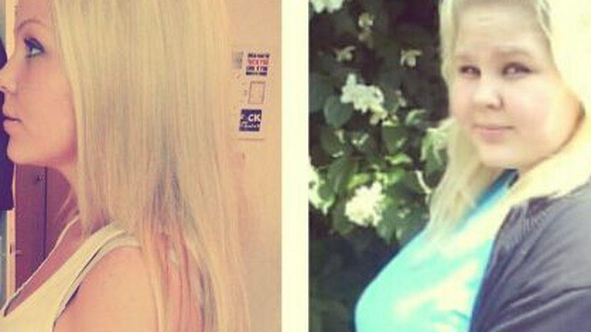 Nicole Handwerker nach und vor ihrer extremen Abnehmkur