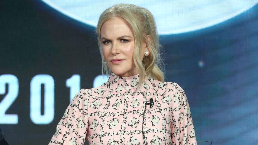 Nicole Kidman bei einer Pressekonferenz in Pasadena