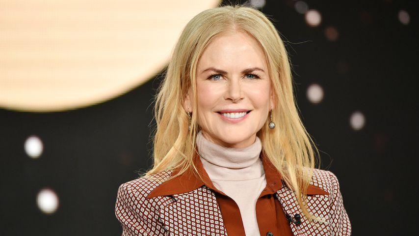 So groß sind Nicole Kidmans Töchter Sunday und Faith schon