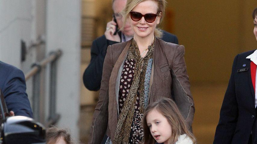 Fröhliche Mama: Nicole Kidman hat ihre Kids im Griff