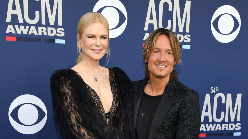 Nicole Kidman und Keith Urban, 2019