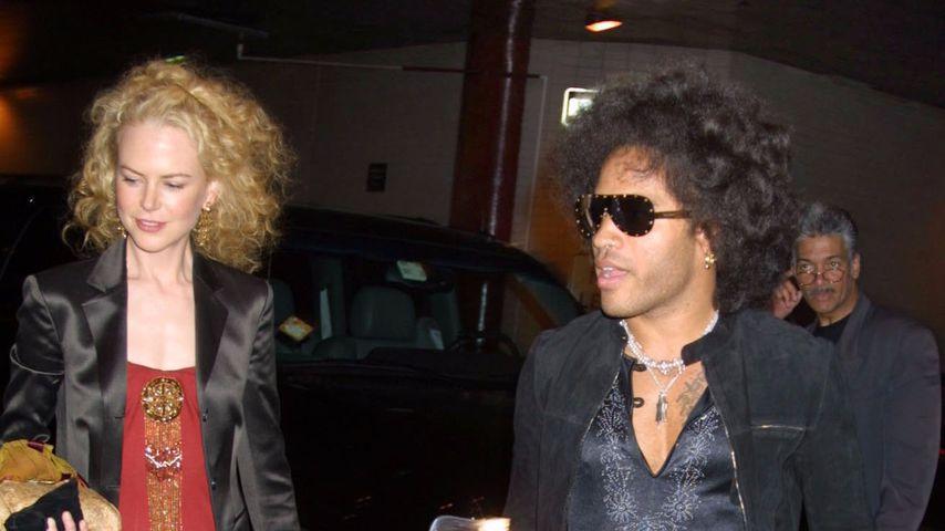 Mit Lenny Kravitz verlobt: Nicole Kidmans Liebes-Geheimnis