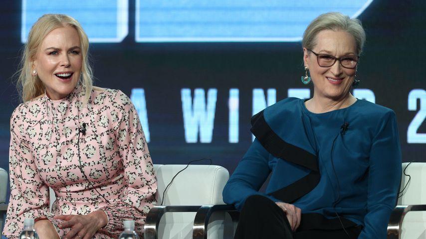 Hollywoodstars Nicole Kidman und Meryl Streep, Februar 2019