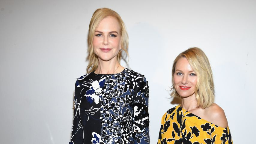 Nicole Kidman und Naomi Watts bei einer Veranstaltung in New York, 2017