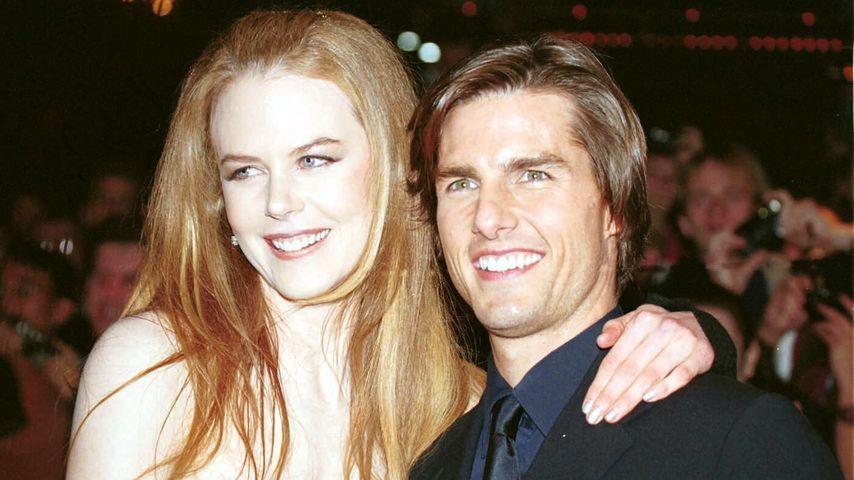 """Nicole Kidman über Date mit Tom Cruise: """"Ich war so nervös!"""""""