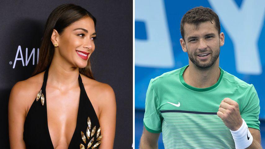 Inniges Doppel: Nicole Scherzinger & Grigor bei French Open
