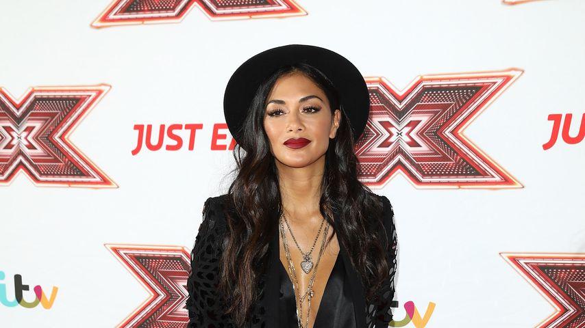 """Nicole Scherzinger beim Fototermin von """"The X Factor"""" 2017"""