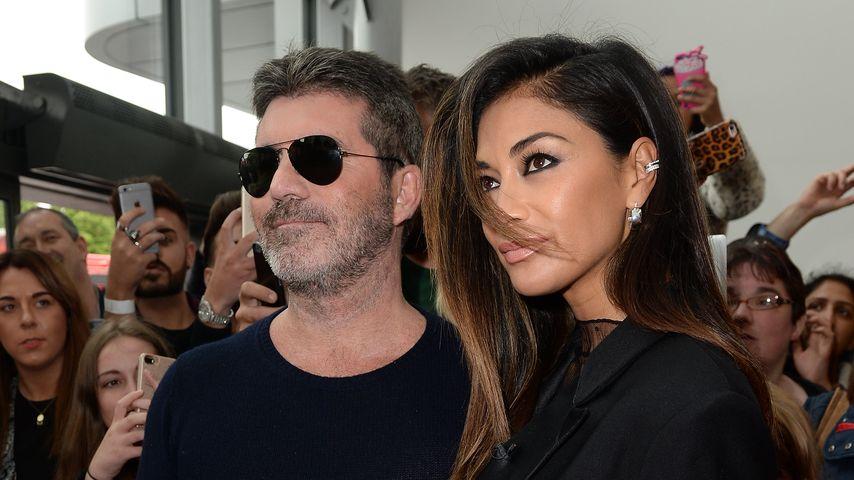 Simon Cowell und Nicole Scherzinger in Manchester