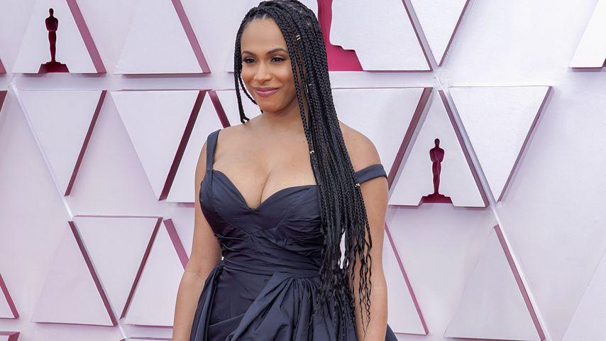 Nicolette Robinson bei den Oscars, 2021