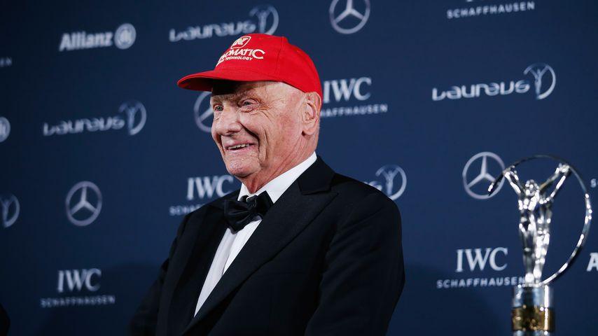 Formel-1-Star Niki Lauda
