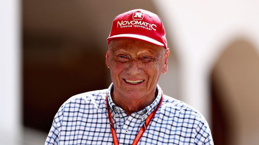 Niki Lauda beim F1 Grand Prix in Monaco 2017