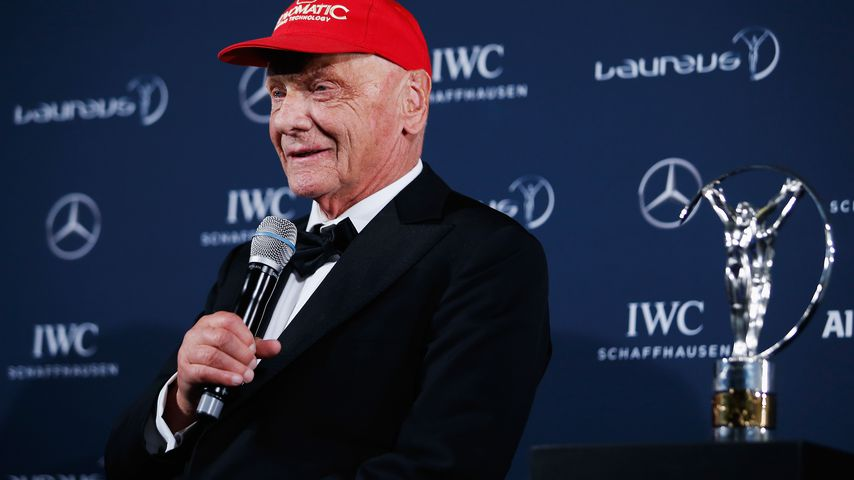 Niki Lauda in Berlin bei den World Sports Awards