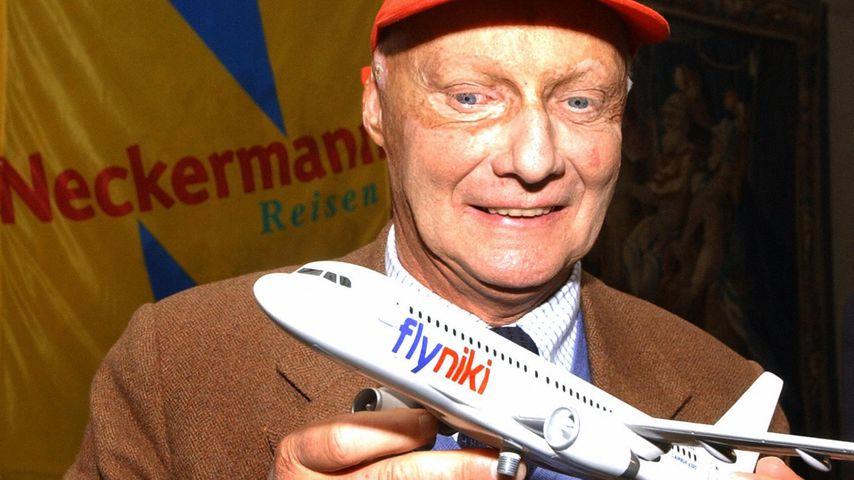 Niki Lauda, ehemaliger Formel-1-Pilot und Unternehmer