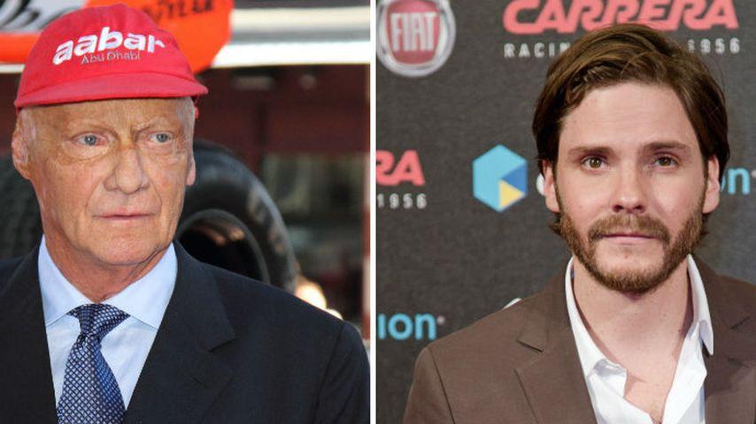 Daniel Brühl: Bammel vor Treffen mit Niki Lauda