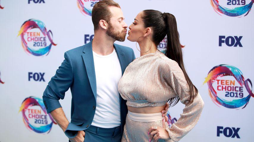 Nikki Bella und Artem Chigvintsev im August 2019