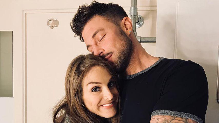 Nikki Grahame und Duncan James, 2018