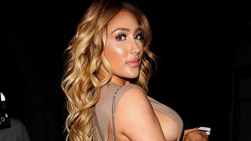 Mega Sideboob: VH1-Star zeigt pralle Kurven im Hauteng-Dress