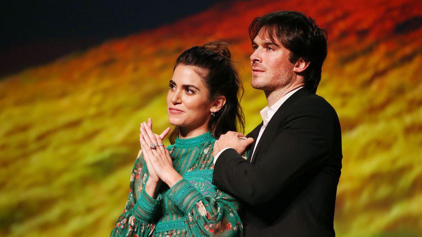 Die Schauspieler Nikki Reed und Ian Somerhalder