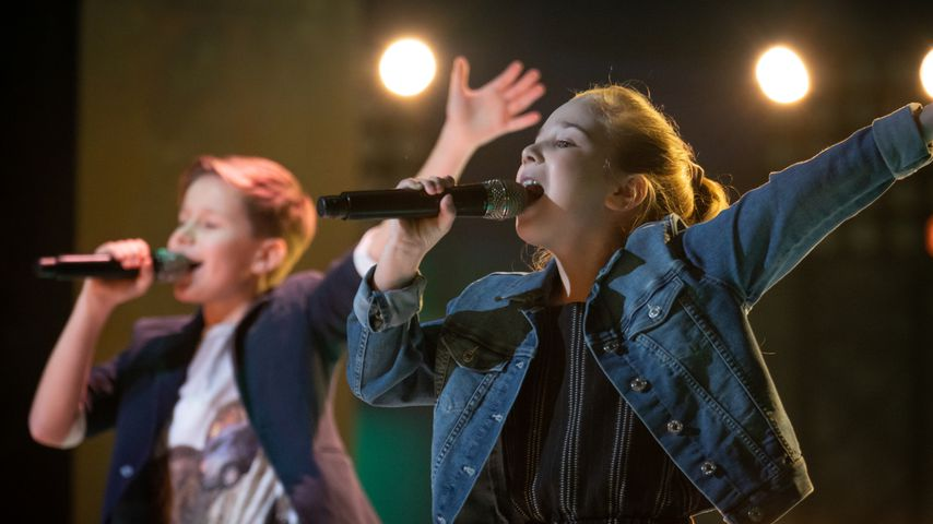 """Niklas und Henriette bei den """"The Voice Kids""""-Battles"""