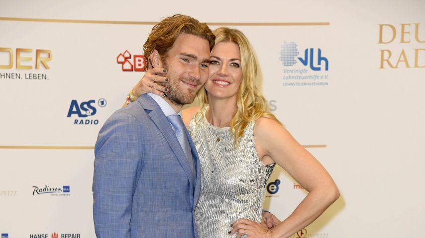 Nina Bott und Benjamin Baarz beim Deutschen Radiopreis