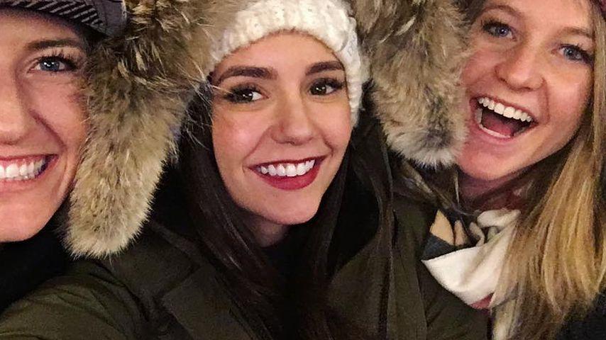 """Ex-""""Vampire Diaries""""-Star Nina Dobrev (Mitte)"""