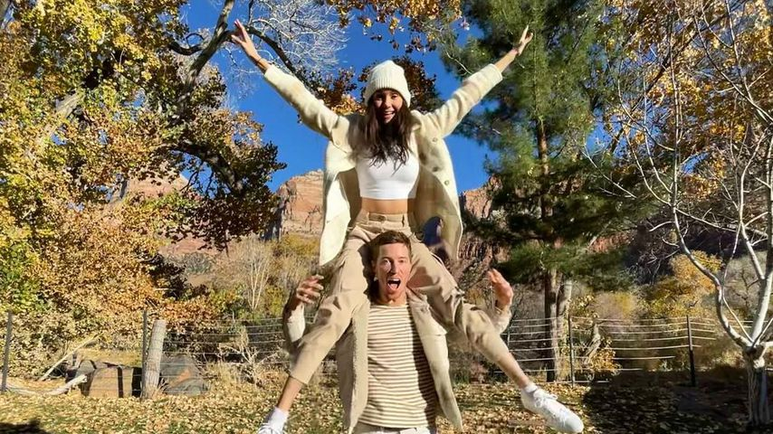 Nina Dobrev teilt cooles Pärchen-Pic mit ihrem Shaun White