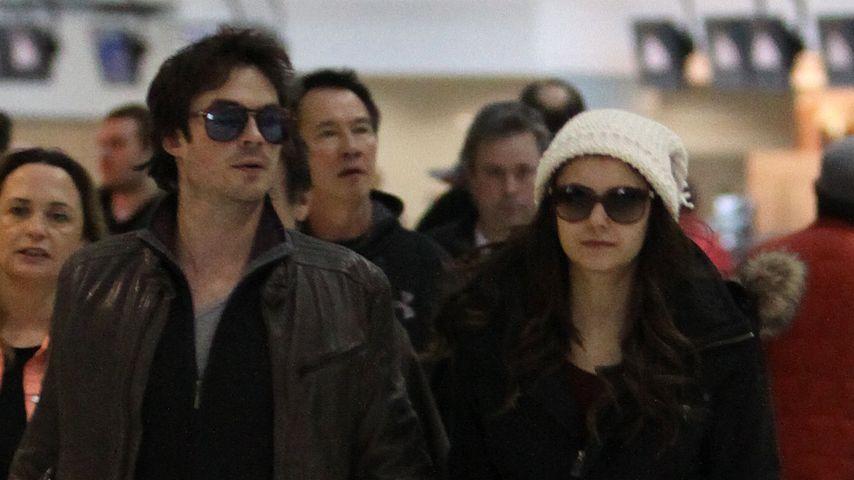 Gute Tat: Nina Dobrev & Ian besuchen kranken Fan