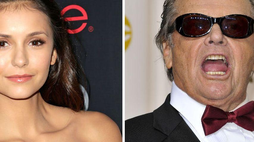 Nina Dobrev bekommt Abfuhr von Jack Nicholson!