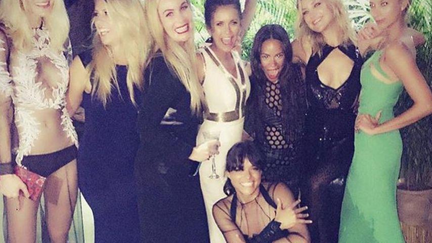 Neue BFFs? Nina Dobrev feiert mit Michelle Rodriguez